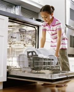 un lave-vaisselle